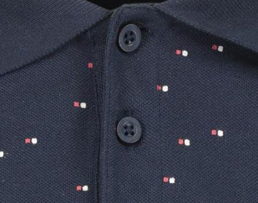 herenpolo donkerblauw donkerblauw - 1000018192 - HEMA