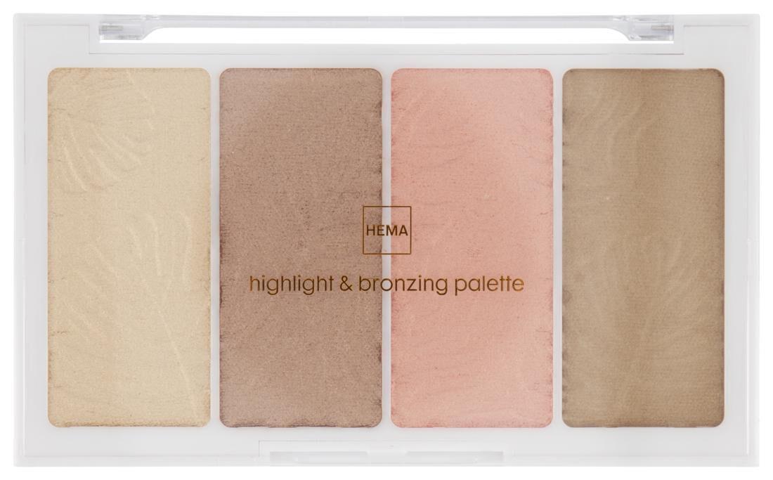 HEMA Highlight & Bronzer Palette