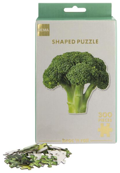 puzzel broccoli 300 stukjes - 61120212 - HEMA