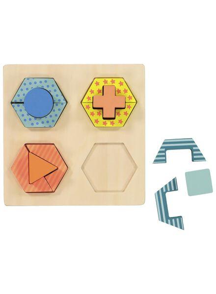 houten vormenpuzzel - 15122223 - HEMA
