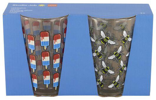 drinkglazen 2 stuks - Studio Job - 41590023 - HEMA