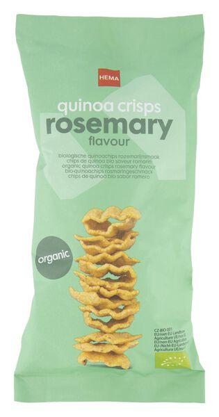 biologische quinoa chips - rozemarijn - 75 gr - 10639443 - HEMA