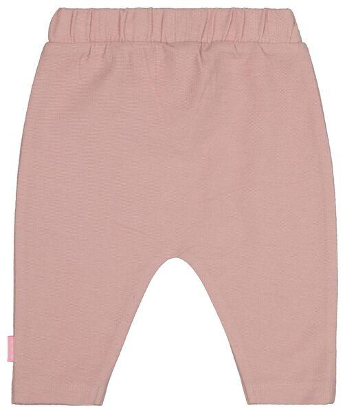 newborn broek roze roze - 1000020339 - HEMA