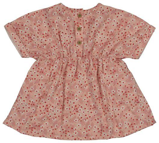 baby jurk zalmroze 86 - 33081605 - HEMA