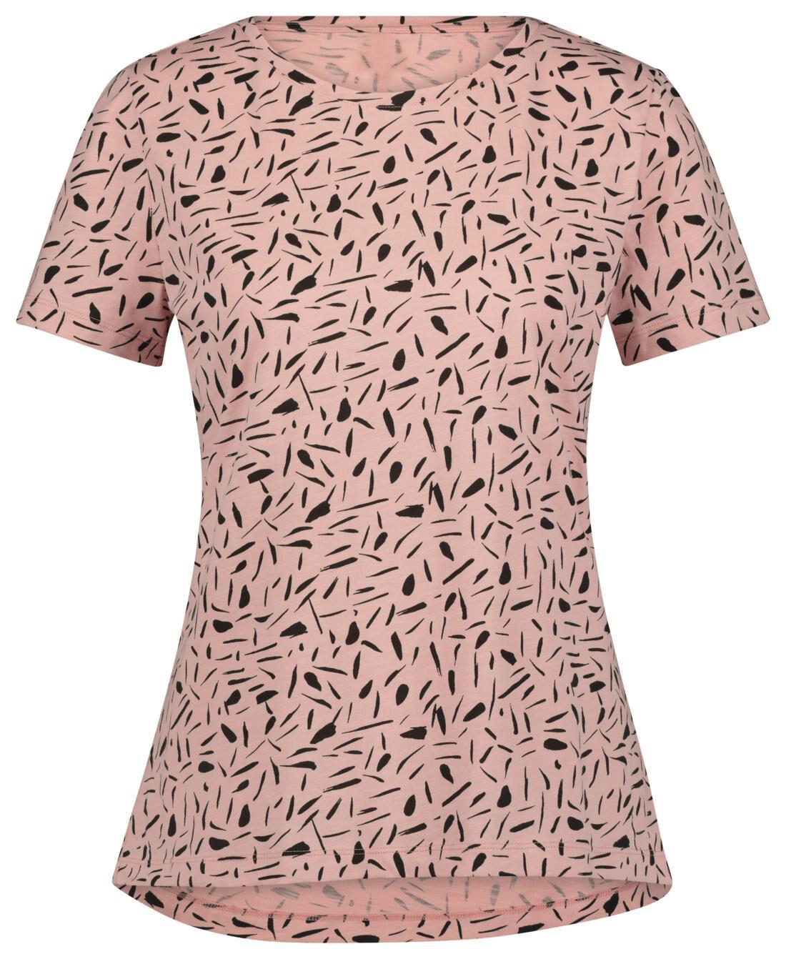 HEMA Dames T-shirt Roze (roze)
