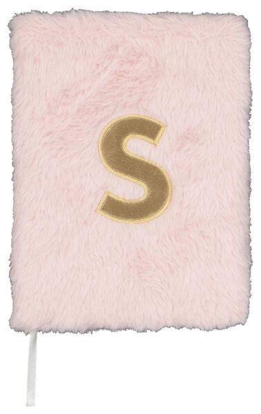 Notitieboek A5 fluffy letter S