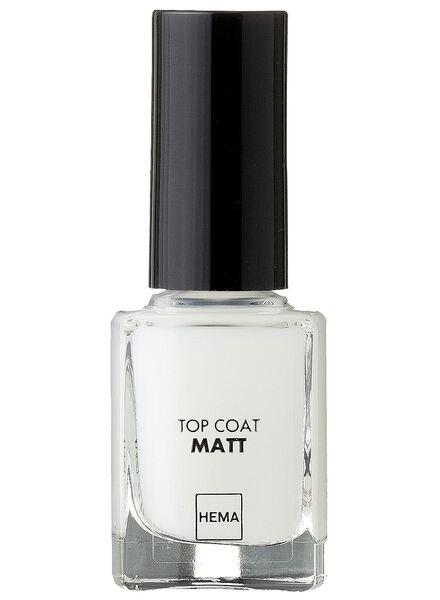top coat nailpolish matt - 11244520 - HEMA