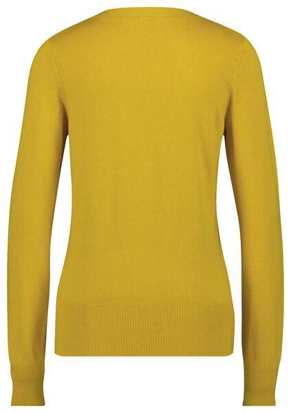damesvest geel S - 36314091 - HEMA
