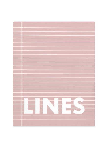 schriften roze A5 gelinieerd - 3 stuks - 14101605 - HEMA