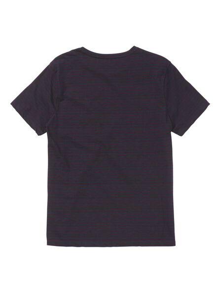 heren t-shirt donkerblauw donkerblauw - 1000009498 - HEMA