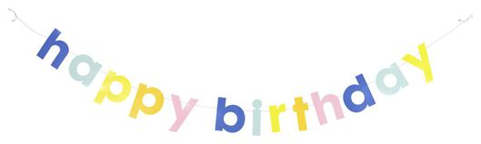 slinger happy birthday - 1.5 meter - 14280140 - HEMA