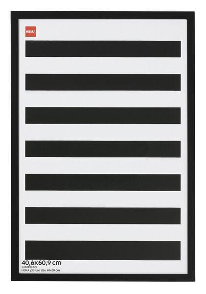 fotolijst - hout - zwart 40.6 x 60.9 40.6x60.9 zwart - 13680029 - HEMA