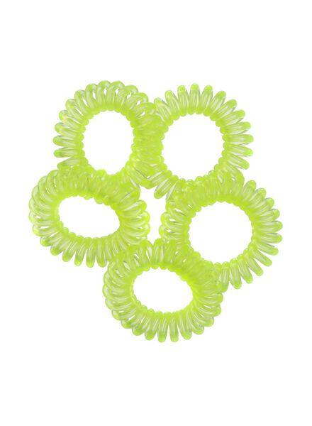 5-pak spiraal elastiekjes - 11873041 - HEMA
