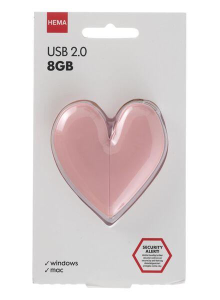 USB-stick 8GB hart - 39520026 - HEMA