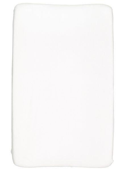 aankleedkussenhoes 50x70 wit - 33389636 - HEMA