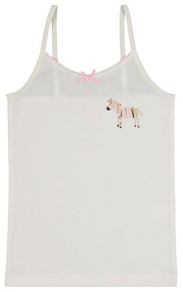 2-pak kinderhemden zebra roze roze - 1000020482 - HEMA