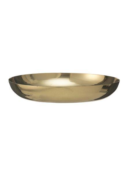 kaarsonderzetter - Ø 12 cm - goud - 13382062 - HEMA