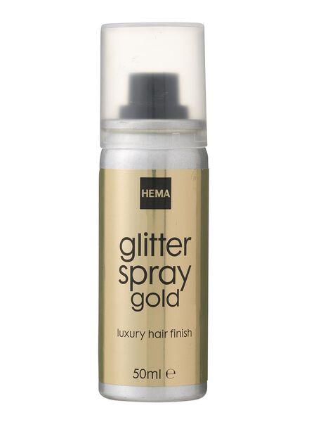 glitter haarspray goud - 11057124 - HEMA