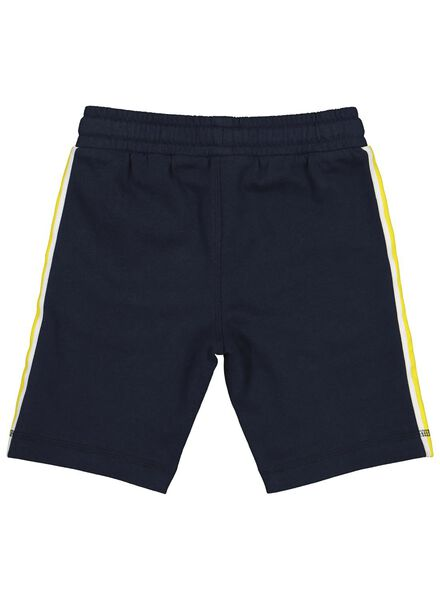 kinder sweatshort blauw blauw - 1000013671 - HEMA