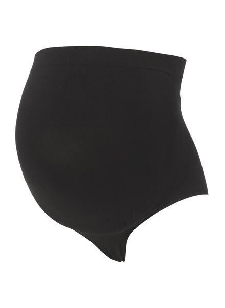 zwangerschapsslip zwart zwart - 1000009693 - HEMA