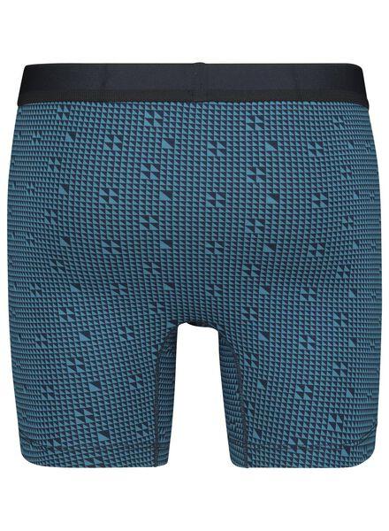 2-pak herenboxers RLC lang blauw blauw - 1000014681 - HEMA