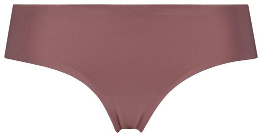 dames hipster second skin micro roze M - 19699843 - HEMA