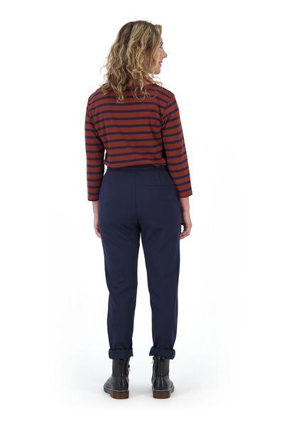 dames t-shirt boothals bruin bruin - 1000021007 - HEMA