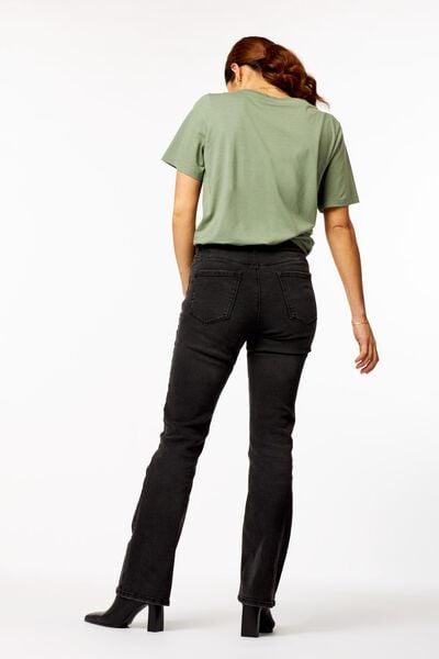 dames t-shirt hello lichtgroen lichtgroen - 1000023730 - HEMA