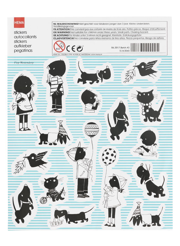 HEMA Jip & Janneke Stickers