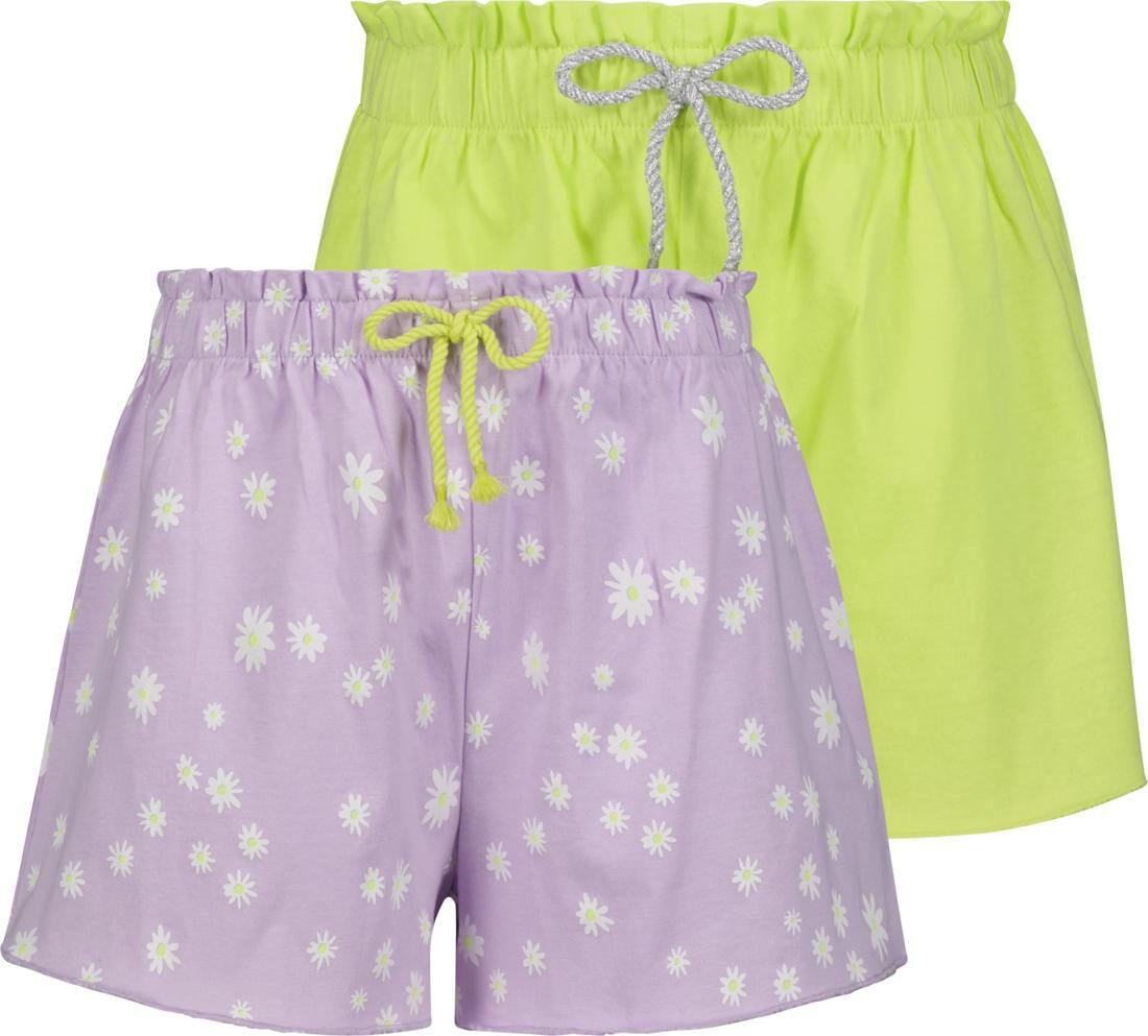 HEMA Kinder Shorts - 2 Stuks Lila (lila)