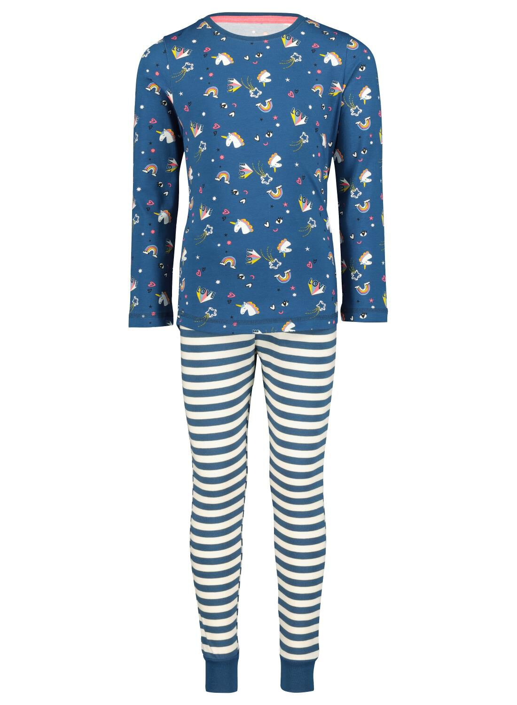 HEMA Kinderpyjama Blauw (blauw)