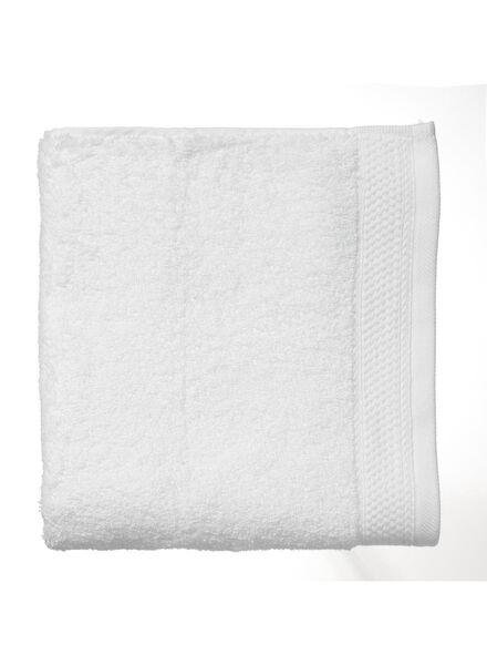 handdoek - 60 x 110 cm - hotelkwaliteit - wit - 5216010 - HEMA