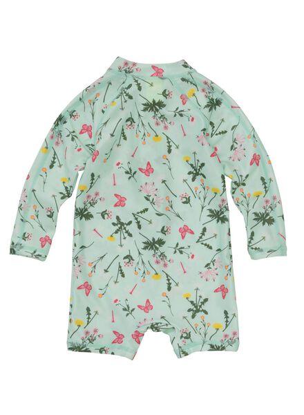 baby zwempak UV-beschermend groen groen - 1000011167 - HEMA