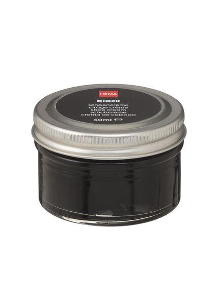 schoencrème zwart - 20500076 - HEMA