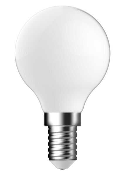 LED matte kogellamp 4,4 watt - kleine fitting - 470 lumen - 20090049 - HEMA