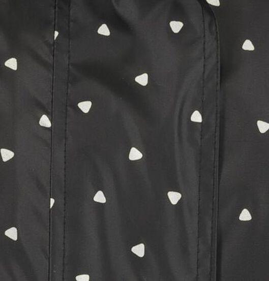 dames regenjas lichtgewicht zwart zwart - 1000019704 - HEMA