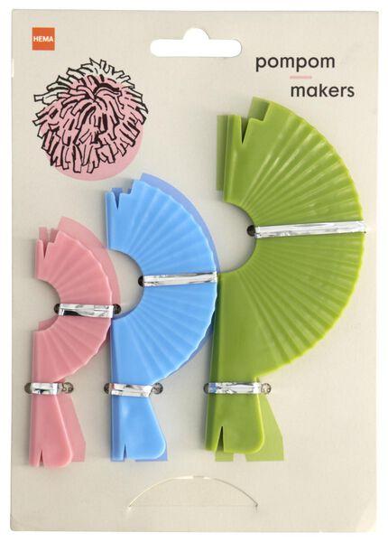 pomponmakers - 3 stuks - 1400131 - HEMA
