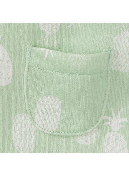baby newborn jumpsuit mintgroen mintgroen - 1000013017 - HEMA