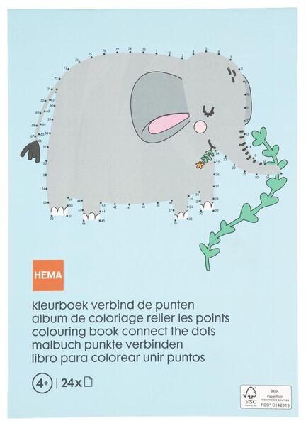 kleurboek verbind de stippen - 15910097 - HEMA