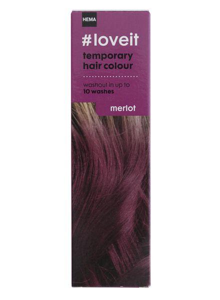 tijdelijke haarkleuring merlot - 11030001 - HEMA