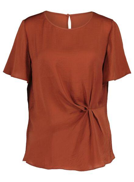 dames top bruin bruin - 1000017189 - HEMA