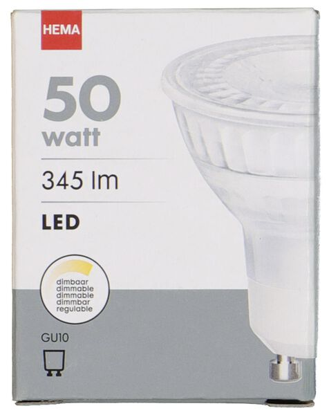 LED lamp 50W - 345 lm - spot - helder - 20020050 - HEMA