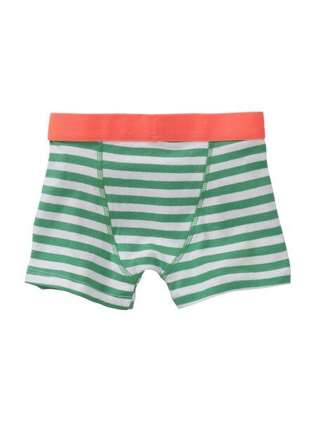 2-pak kinderboxers groen groen - 1000012899 - HEMA