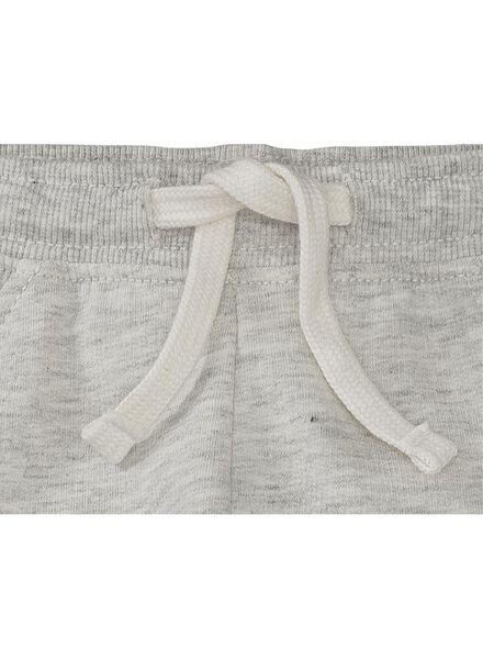 baby sweatbroek grijsmelange grijsmelange - 1000004396 - HEMA