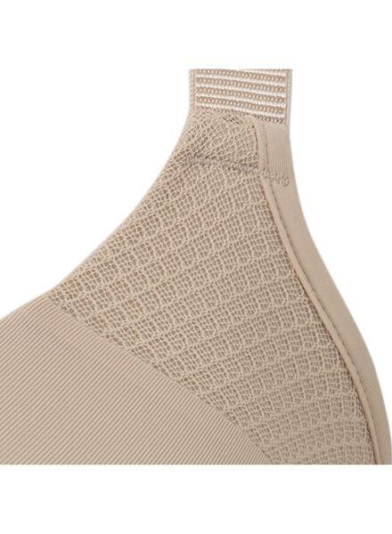 padded bh D-F cup micro beige beige - 1000006607 - HEMA