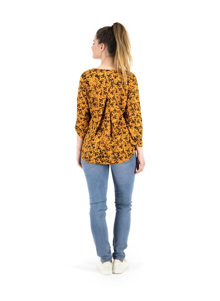 dames top geel geel - 1000014849 - HEMA