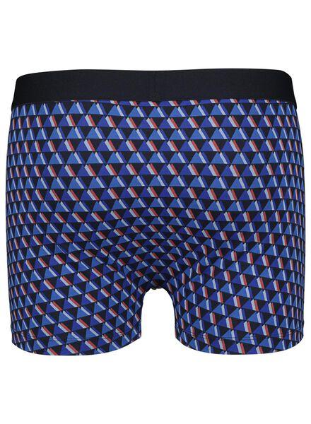 herenboxer kort donkerblauw donkerblauw - 1000014420 - HEMA