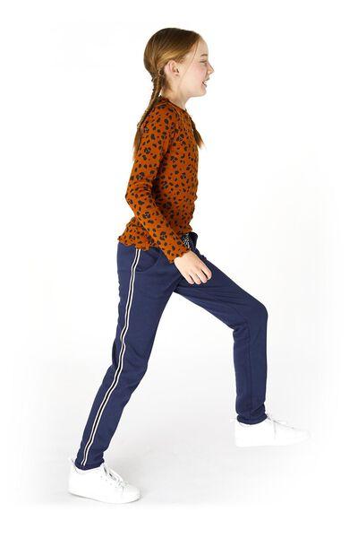 kinder sweatbroek donkerblauw donkerblauw - 1000019899 - HEMA