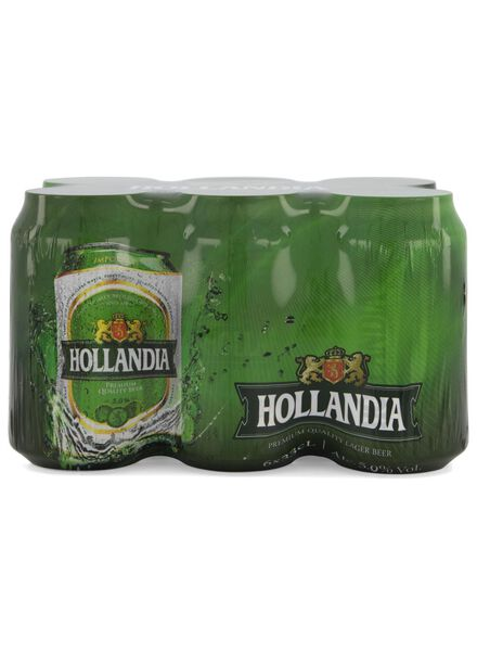 6-pak hollandia bier - 17400010 - HEMA