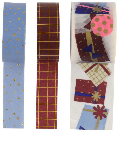 washi tape cadeautjes - 3 stuks - 14700513 - HEMA